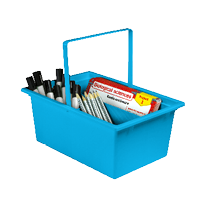 STEM and Craft Classroom Storage