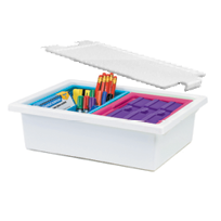 Classroom Builders Divided Storage Caddies; Classroom Organisation
